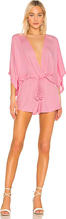 Young Fabulous & Broke Ashley Romper in Pink