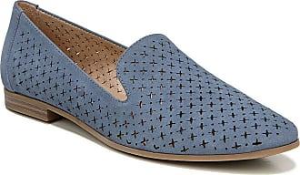 Naturalizer Womens Janelle Loafer, Blue Suede, 8.5 Wide