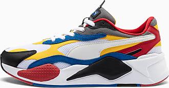 Puma RS-X³ Puzzle Sneaker Schuhe | Mit Aucun | Weiß/Schwarz/Gelb | Größe: 37.5