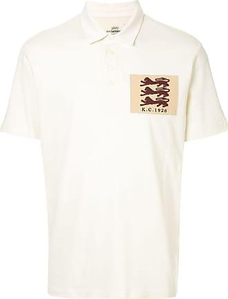 Kent & Curwen logo patch polo shirt - White