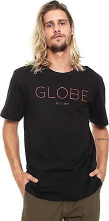 Globe Camiseta Globe Lettering Preta