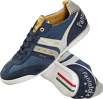 Pantofola D'oro dOro Herren Sneaker-Schuh Blau gemustert
