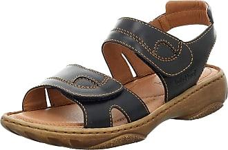 Josef Seibel Womens Debra Combi Velcro Sandals 76444 95 501 3 UK Blue