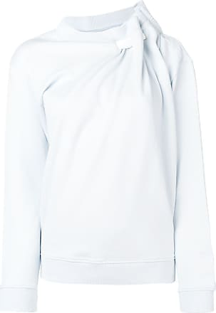 Y / Project ruffle-detail sweatshirt - Azul