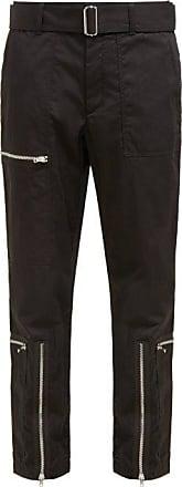Helmut Lang Flight Cotton-blend Twill Trousers - Womens - Black
