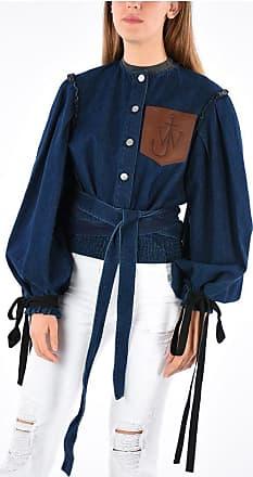 J.W.Anderson Denim Jacket with Leather Pocket size 8