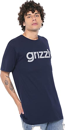 Grizzly Camiseta Grizzly Lowercase Tee Azul-marinho