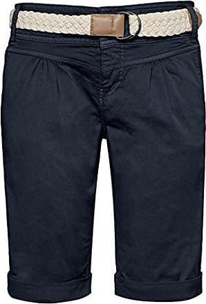 18962a1b92d111 Fresh Made Damen Bermuda-Shorts im Chino Style mit Flecht-Gürtel | Elegante  Kurze