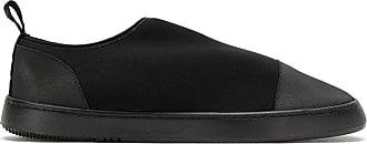 Osklen elasticated slip on sneakers - Black