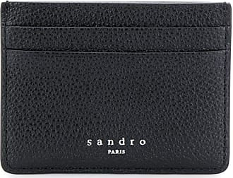 Sandro grained cardholder - Black