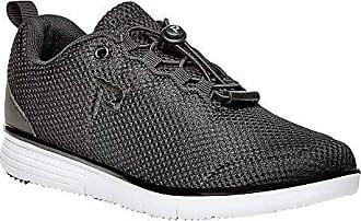Propét Propet Womens TravelFit Prestige Walking Shoe, Black, 9 M US