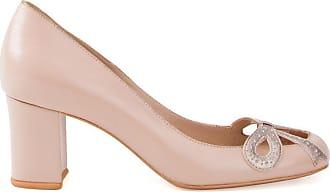 Sarah Chofakian chunky heel pumps - Color carne