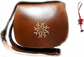 Generico Generic Leather Bag 25 x 21 cm Wide 9 cm Shoulder Strap 130 cm Adjustable Woman Free Keyring Genuine Leather Made in Italy Without Pockets