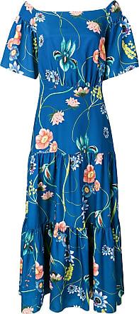 Borgo De Nor long floral dress - Azul