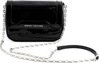 A X Armani Exchange Crossbody Bag Colorful, Womens Shoulder Bag, Black, 15x6.5x19 cm (B x H T)