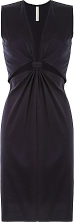 Dion Lee loop knot jersey tank dress - Black