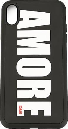 Dolce & Gabbana Amore iPhone X case - Preto