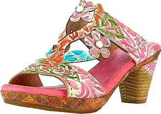 Laura Vita Beclforto 13 Ladies Fashion Clogs, Size:6.5 UK, Colour:Pink