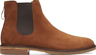 Clarks Mens Boot Dark Tan Suede Clarks Clarkdale Gobi Size 11.5