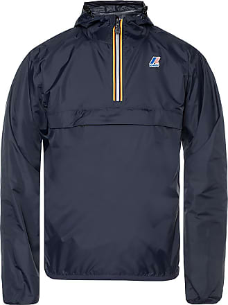 K-Way Le Vrai 3.0 Leon Rainjacket Mens Navy Blue