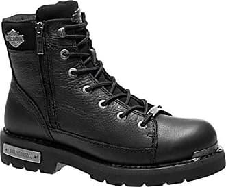 5f788febcc20 Harley-Davidson Mens Chipman Motorcycle Boot Black 7 Medium US
