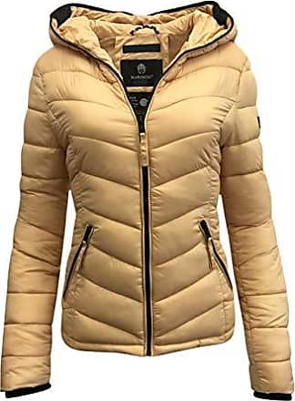 Damen Jacke Steppjacke Übergangsjacke Daunen Look Jeans gesteppt Frühjahr DV-060