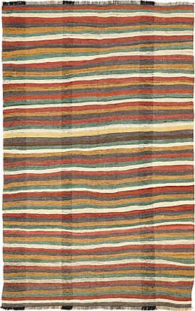 Nain Trading 297x186 Tappeto Kilim Fars Antico Grigio Scuro/Arancione (Lana, Persia/Iran, Annodato a mano)