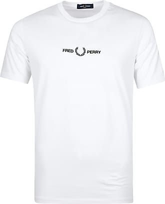 Fred Perry T-Shirt Weiß 8621