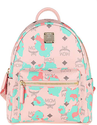 MCM Backpacks - Stark Backpack Mini Powder Pink - rose - Backpacks for ladies