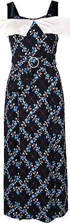 Rixo Vestido Chloe floral - Preto