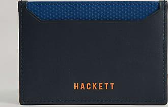 Aston Martin Core Leather Cardholder   Navy/Blue