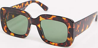 New Look square sunglasses in tortoiseshell-Brown