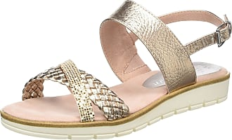 Marco Tozzi Womens 2-2-28625-22 Ankle Strap Sandals, Pink (Rose Met. Comb 532), 6.5 UK