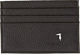 82c20861ff Trussardi 71w00003-1y090085, Porta Carte di Credito Uomo, Nero, 13x10x2 cm (
