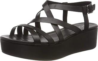 Ecco PLATEAUSANDAL, Platform Sandals Womens, Black (BLACK 1001), 5.5 UK EU