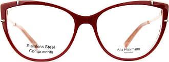 Ana Hickmann Óculos de Grau Ana Hickmann Ah6382 H01/54 Vermelho/bronze
