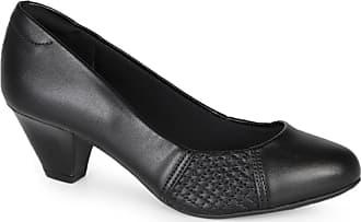 Modare Sapato Feminino Salto Conforto Modare Recorte