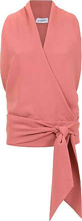 OLYMPIAH Blusa Lucca com amarração - Rosa