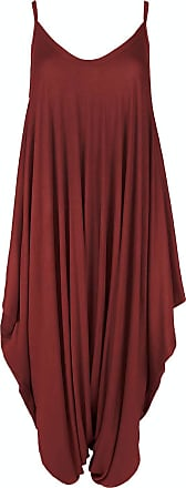 Generic Womens Hareems V Neck Harems Dress All in One Jumpsuit Romper Ladies Plus Size