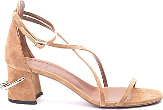 L'autre Chose Fashion Woman LDL08160CP2106 Brown Suede Sandals | Spring Summer 20