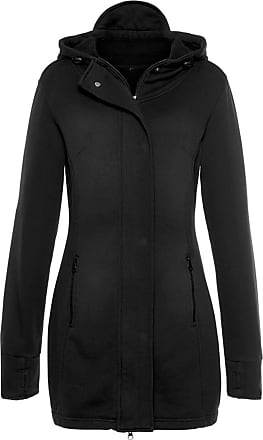 bench damen mantel core slim materialmix coat