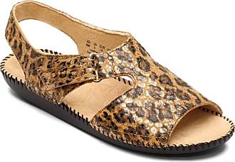 Naturalizer Womens Scout Flat Sandal, Cheetah, 7.5 Wide