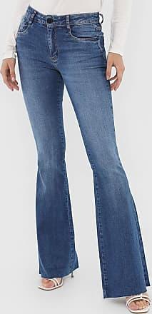 Morena Rosa Calça Jeans Morena Rosa Flare Carol Azul