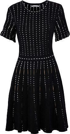 a7a6da24bbff Oscar De La Renta Oscar De La Renta Woman Flared Cotton-blend Jacquard Mini  Dress