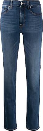 7 For All Mankind Calça jeans reta slim - Azul