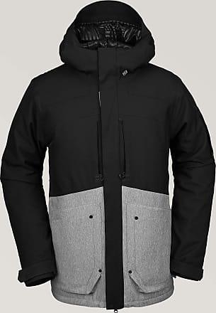 Volcom Mens Scorth Insulated Snow Jacket Vest, Grey Mixed, L