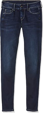 Pepe Jeans London Womens SOHO PL201040 Skinny Jeans, Denim Oz Dark Used Worn, 29W / 28L