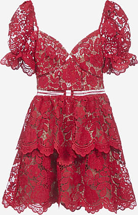 Self Portrait Flower lace mini dress - SELF PORTRAIT - woman