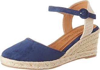Refresh Womens 69569.0 Platform Sandals, Navy Blue Navy, 7 UK