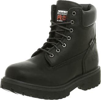 Timberland PRO Mens Direct Attach Six-Inch Soft-Toe Boot, Black,7.5 W